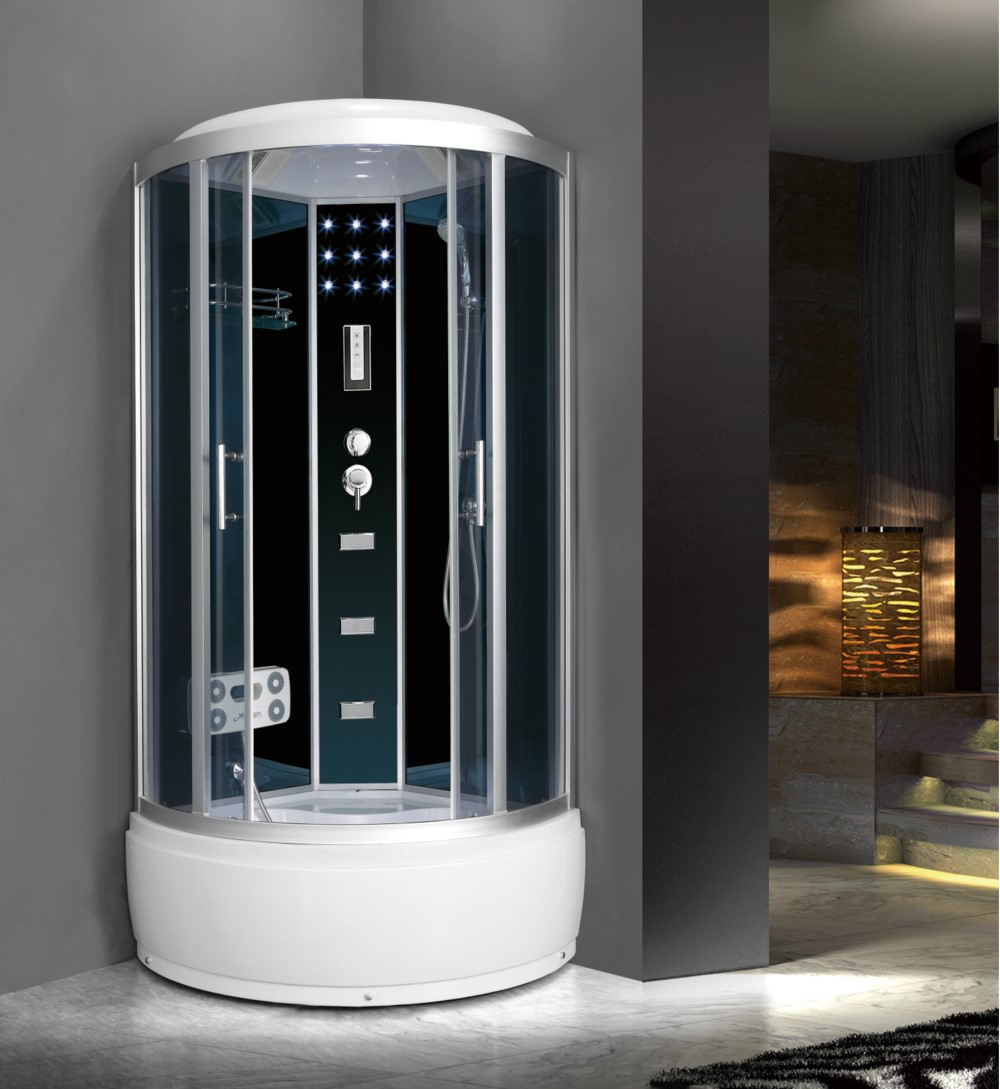 China Sector Corner Shower Cabin Room with Massage Function M-502-B ...