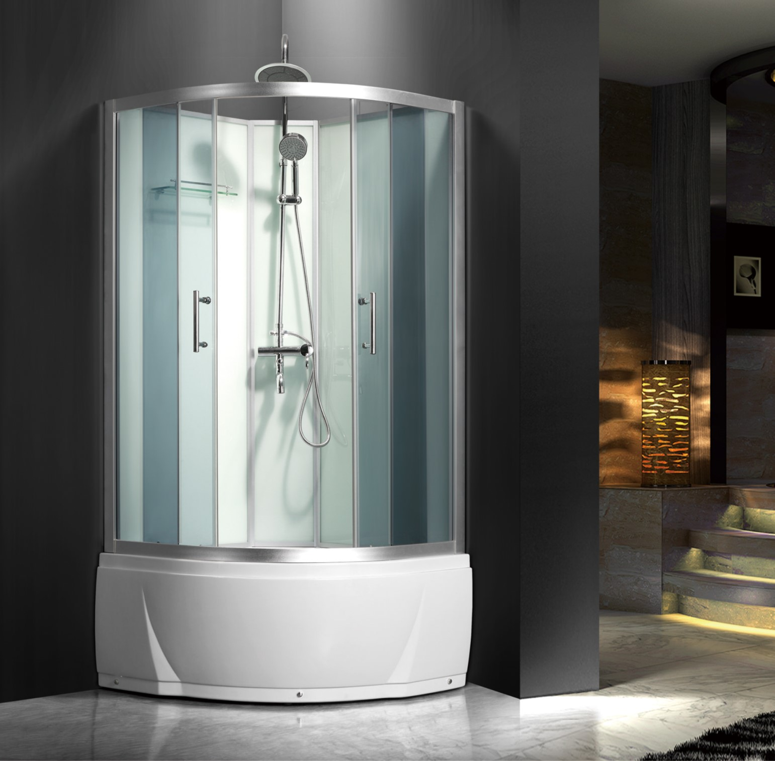 China White Painted Glass Shower Door With Tub Combo Manufacturers ...