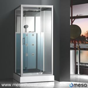 Freestanding Rectangular Shower Cabin Room with Low Shower Tray M-527-CY
