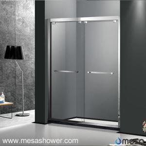 Stainless Steel Shower Cabin with Sliding Door